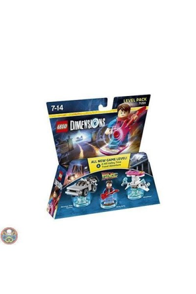 LEGO DIMENSIONS LEVEL PACK RITORNO AL FUTURO BACK TO THE FUTURE NUOVO