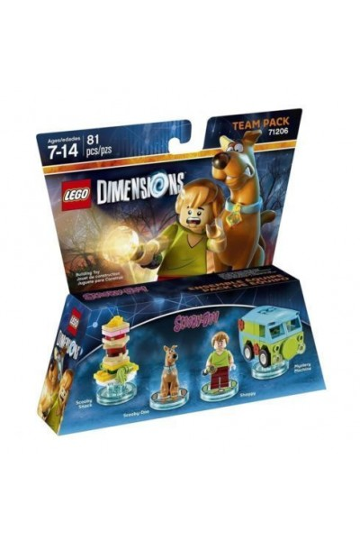 LEGO DIMENSIONS TEAM PACK SCOOBY DOO NUOVO