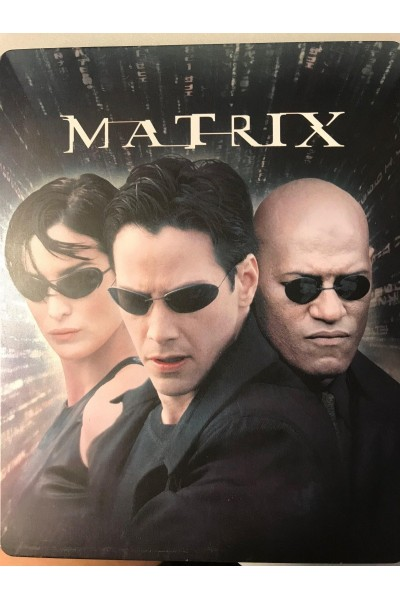 MATRIX METAL BOX BLU RAY