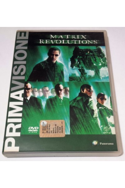 MATRIX REVOLUTIONS DVD VERSIONE EDITORIALE NUOVO SIGILLATO