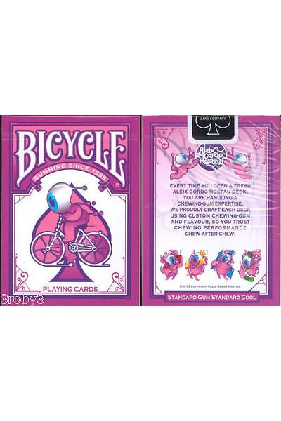MAZZO DI CARTE BICYCLE GUMMING SINCE 1885 PLAYING CARDS - MAZZI - CARTE DA GIOCO