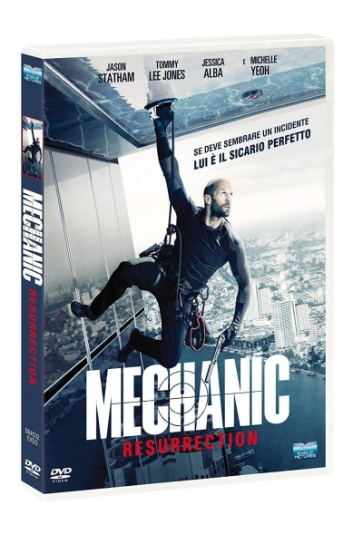 MECHANIC RESURRECTION JASON STATHAM DVD