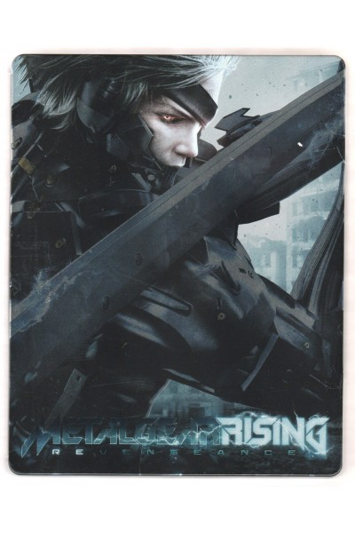 METAL GEAR RISING REVENGEANCE RENDER COMMANDO STEELBOX STEELBOOK NUOVO