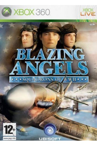 MICROSOFT XBOX 360 BLAZING ANGELS SQUADRONS OF WWII PAL ITALIANO COMPLETO