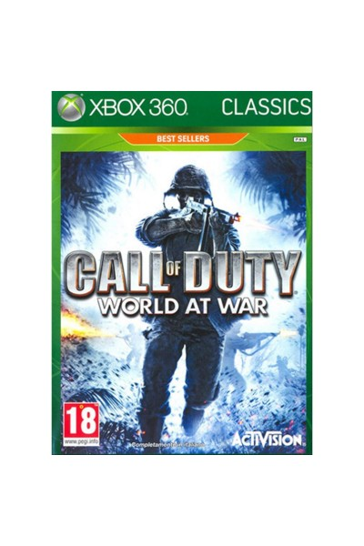 MICROSOFT XBOX 360 CALL OF DUTY WORLD AT WAR PAL ITALIANO COMPLETO