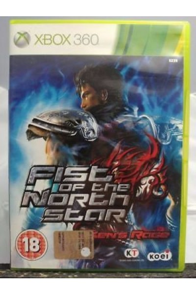 MICROSOFT XBOX 360 FIST OF THE NORTH STAR KEN'S RAGE PAL UK COMPLETO