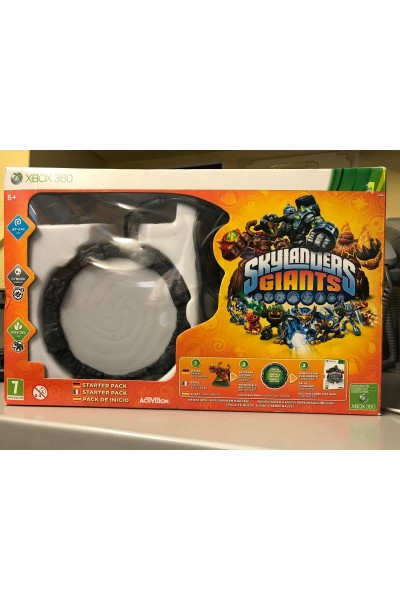 MICROSOFT XBOX 360 SKYLANDERS GIANTS STARTER PACK PAL ITALIANO SOLO DISCO E BASE