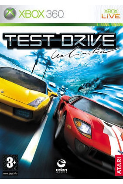 MICROSOFT XBOX 360 TEST DRIVE UNLIMITED PAL ITALIANO SENZA MANUALE