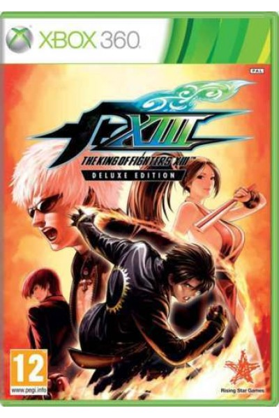 MICROSOFT XBOX 360 THE KING OF FIGHTERS XIII DELUXE ED PAL ITALIANO COMPLETO