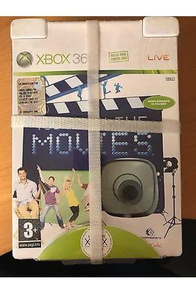 MICROSOFT XBOX 360 YOU'RE IN THE MOVIES COMPLETO NUOVO SIGILLATO