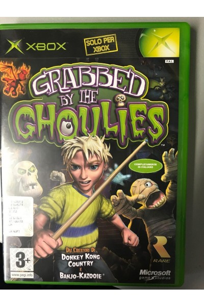 MICROSOFT XBOX GRABBED BY THE GHOULS PAL ITALIANO COMPLETO