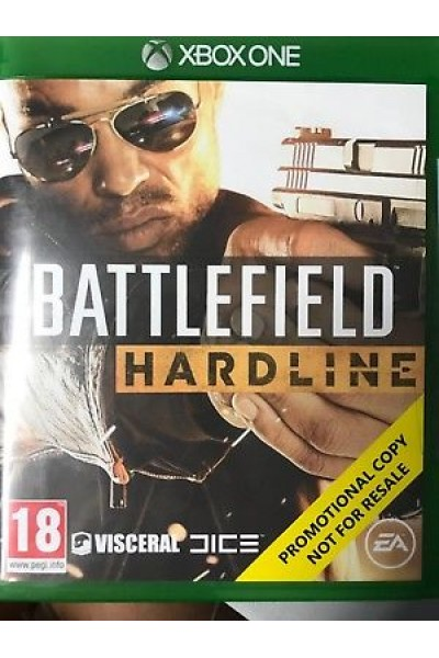 MICROSOFT XBOX ONE BATTLEFIELD  HARDLINE PAL ITALIANO BUNDLE COPY