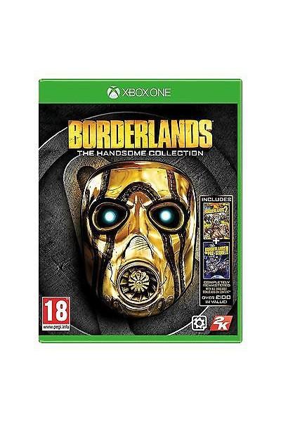 MICROSOFT XBOX ONE BORDERLANDS THE HANDSOME COLLECTION PAL ITALIANO COMPLETO