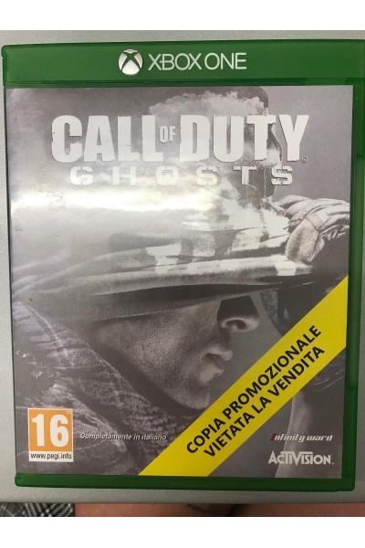 MICROSOFT XBOX ONE CALL OF DUTY GHOSTS PROMOTIONAL COPY PAL ITALIANO