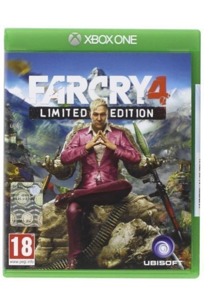 MICROSOFT XBOX ONE FAR CRY FARCRY 4 PAL ITALIANO