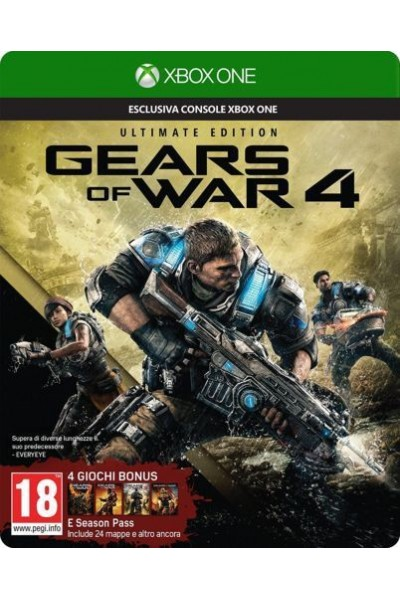 MICROSOFT XBOX ONE GEARS OF WAR 4 ULTIMATE EDITION PAL ITALIANO
