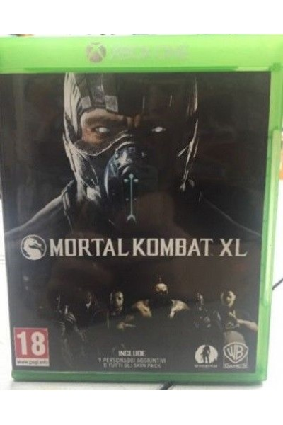 MICROSOFT XBOX ONE MORTAL KOMBAT XL PAL ITALIANO