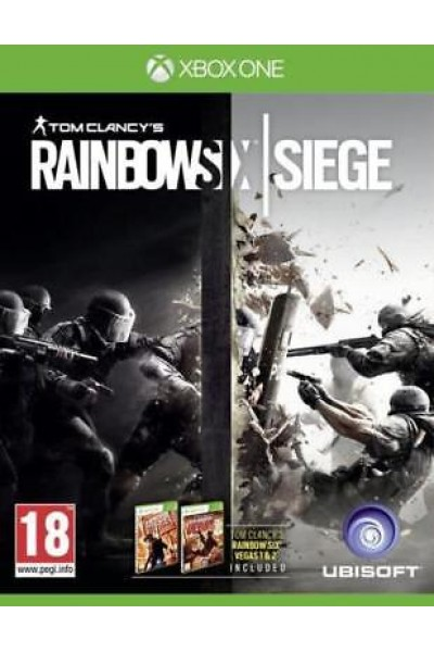MICROSOFT XBOX ONE RAINBOW SIX SIEGE PAL ITALIANO