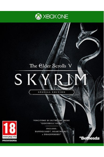 MICROSOFT XBOX ONE SKYRIM THE ELDER SCROLLS V SPECIAL EDITION PAL ITALIANO