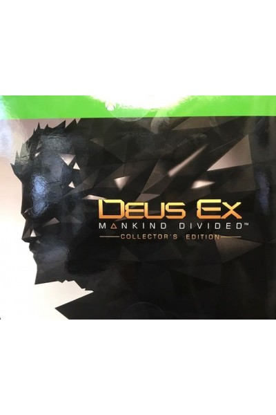 MICROSOFT XBOXONE XBOX ONE DEUS EX MANKIND DIVIDED COLLECTOR LIMITED EDITION @L