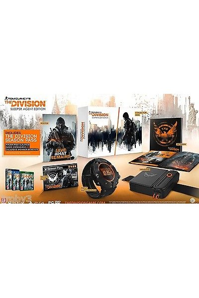MICROSOFT XBOXONE XBOX ONE THE DIVISION SLEEPER AGENT EDITION COLLECTOR EDITION