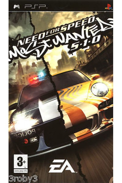 NEED FOR SPEED MOST WANTED 5.1.0 PSP PLAY STATION PORTABLE