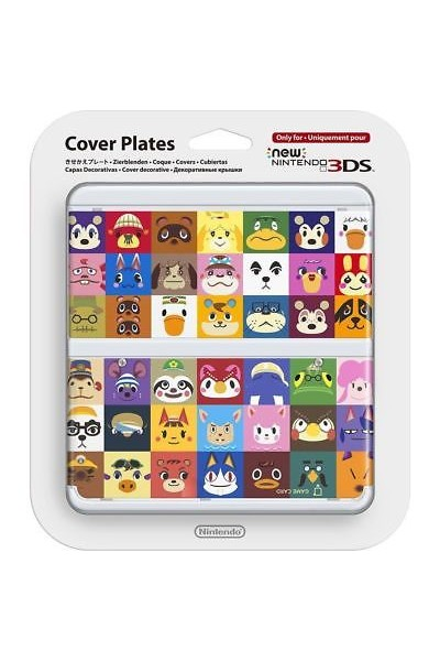 NEW NINTENDO 3DS COVER PLATES ANIMAL CROSSING NUOVA ORIGINALE SIGILLATA