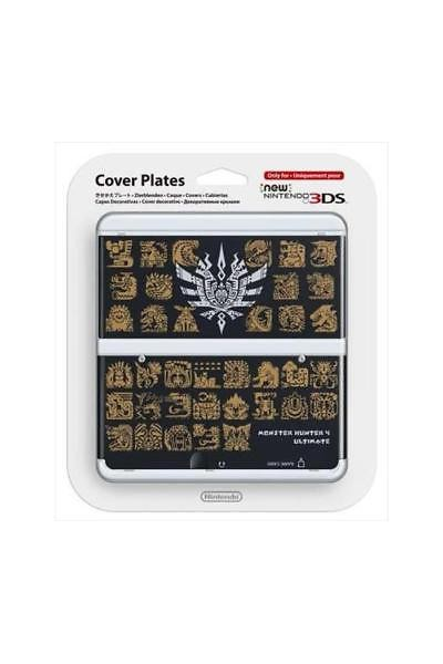 NEW NINTENDO 3DS COVER PLATES MONSTER HUNTER ULTIMATE 4 NUOVA ORIGINALE SIGILLAT
