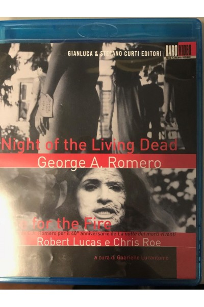 NIGHT OF THE LIVING DEAD ROMERO + ONE FOR THE FIRE BLU RAY