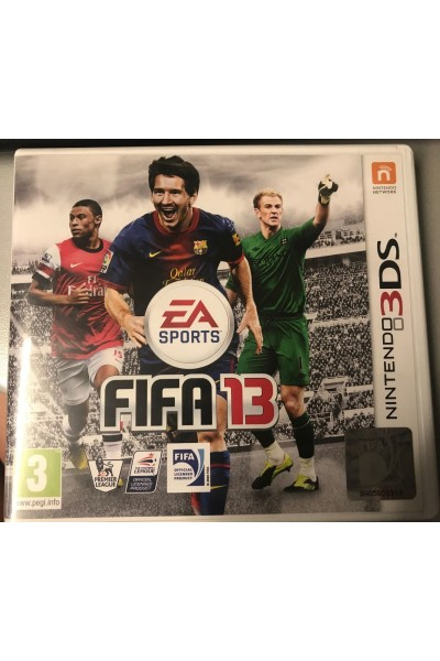 NINTENDO 3DS FIFA 13 PAL UK COMPLETO