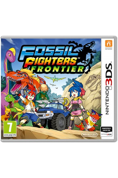 NINTENDO 3DS FOSSIL FIGHTERS FRONTIER PAL ITALIANO COMPLETO