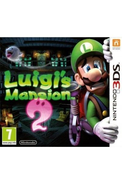 NINTENDO 3DS LUIGI'S MANSION 2 PAL ITALIANO SENZA MANUALE