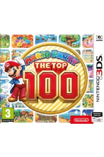 NINTENDO 3DS  MARIO PARTY THE TOP 100 PAL ITALIANO COMPLETO