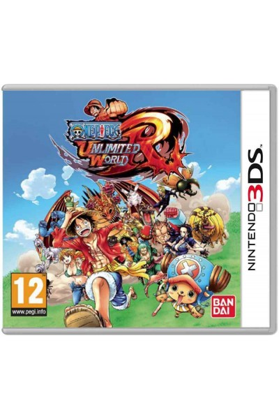NINTENDO 3DS ONE PIECE UNLIMITED WORLD RED PAL ITALIANO CON GUIDA RAPIDA 3D R