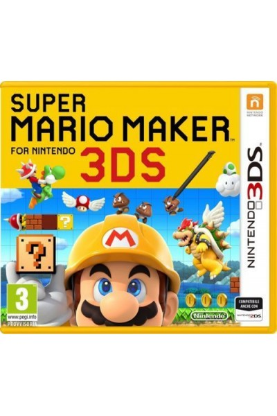 NINTENDO 3DS SUPER MARIO MAKER PAL ITALIANO