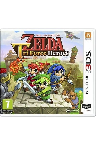 NINTENDO 3DS THE LEGEND OF ZELDA TRI FORCE HEROES PAL ITALIANO