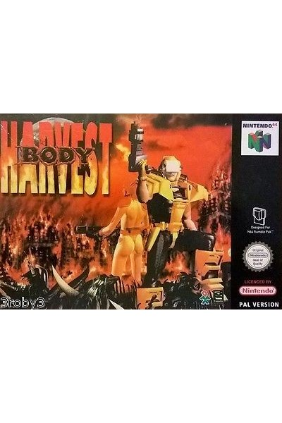 NINTENDO 64  N64 HARVEST BODY PAL ITALIANO COMPLETO CON BOX E   MANUALE