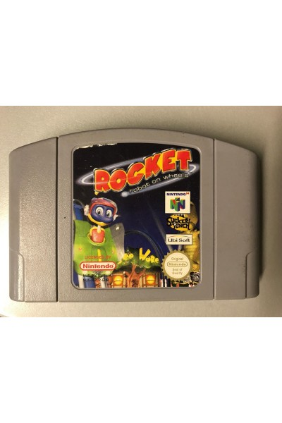 NINTENDO 64 ROCKET ROBOT ON WHEELS 64 VERSIONE PAL LOOSE SOLO CARTUCCIA
