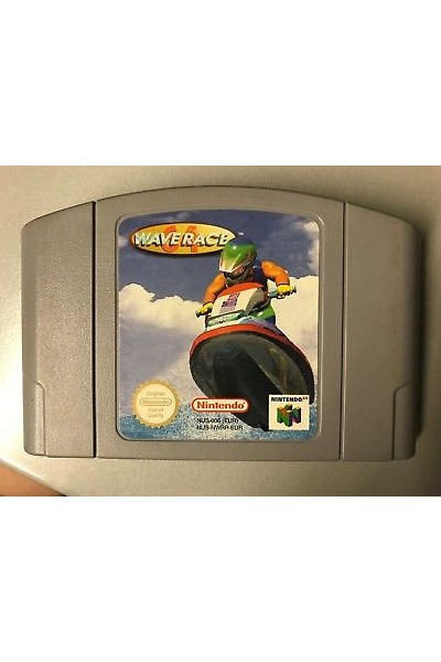 NINTENDO 64 WAVE RACE PAL SOLO CARTUCCIA LOOSE