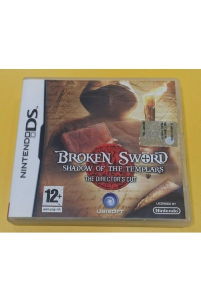 NINTENDO DS BROKEN SWORD SHADOW OF THE TEMPLARS PAL ITALIANO COMPLETO