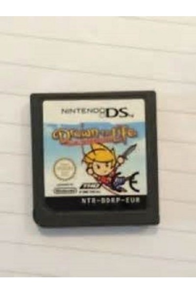 NINTENDO DS DRAWN TO LIFE THE NEXT CHAPTER PAL DS SOLO CARTUCCIA LOOSE