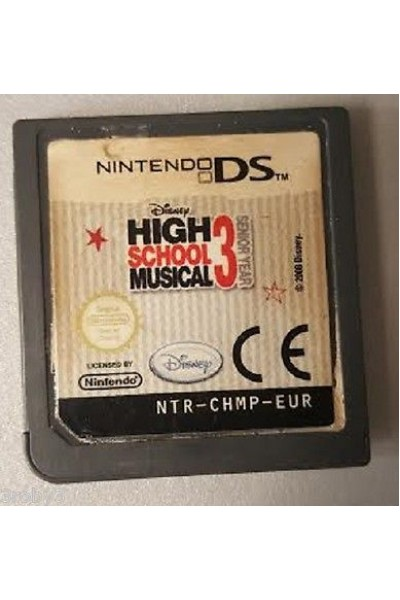 NINTENDO DS HIGH SCHOOL MUSICAL 3 III PAL SOLO CARTUCCIA