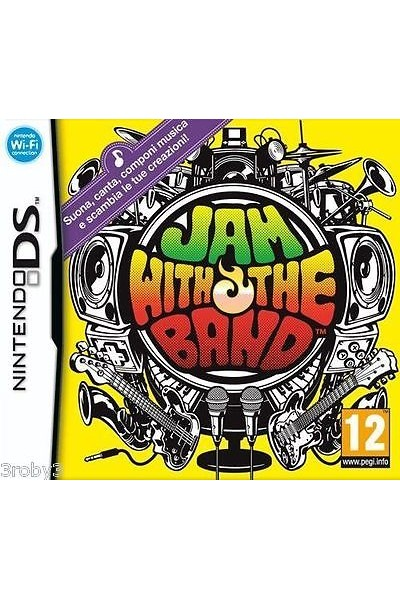 NINTENDO DS JAM WITH THE BAND PAL ITALIANO COMPLETO