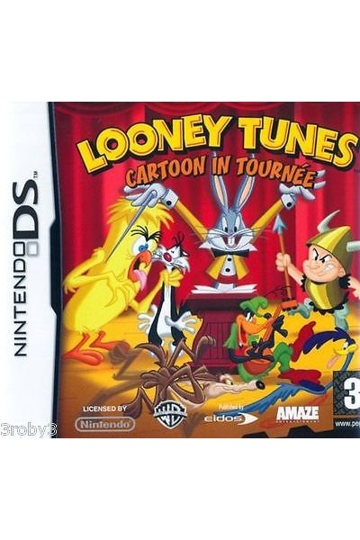 NINTENDO DS LOONEY TUNES CARTOON IN TOURNEE PAL ITALIANO COMPLETO