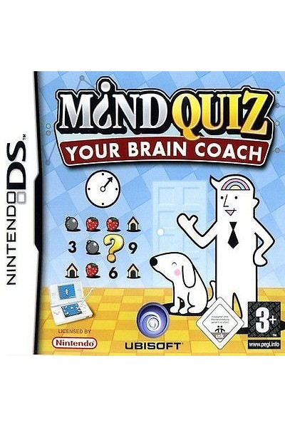 NINTENDO DS M?ND MIND QUIZ YOUR BRAIN COACH PAL ITALIANO COMPLETO