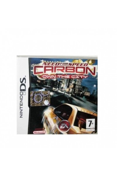 NINTENDO DS NEED FOR SPEED CARBON OWN THE CITY PAL ITALIANO COMPLETO