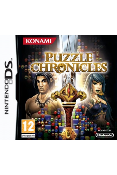 NINTENDO DS PUZZLE CHRONICLES PAL ITALIANO COMPLETO OTTIMO