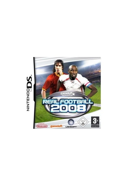 NINTENDO DS REAL FOOTBALL 2008 PAL ITALIANO COMPLETO