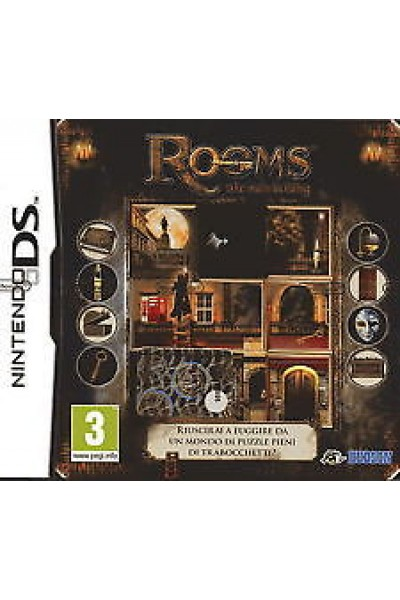 NINTENDO DS ROOMS THE MAIN BUILDING PAL ITALIANO COMPLETO
