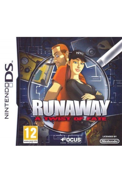 NINTENDO DS RUNAWAY THE TWIST OF FATE PAL ITALIANO COMPLETO
